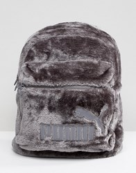 Puma Fur Backpack Grey