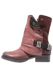 Mjus Winter Boots Rouge Red
