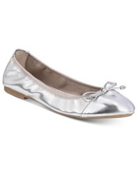 Rialto Sunshine Stretch Flats A Macy's Exclusive Style Women's Shoes Silver