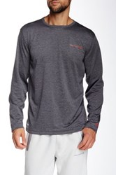 Free Country Reversible Long Sleeve Pullover Gray