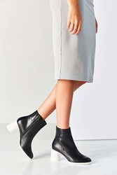 Camper Lea Ankle Boot Black And White