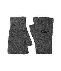 Outdoor Research Fairbanks Fingerless Gloves Charcoal Extreme Cold Weather Gloves Gray
