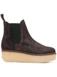 Flamingos Gibus Ankle Boots Brown