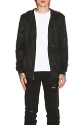 Stampd Mesh Nylon Zip Jacket In Black