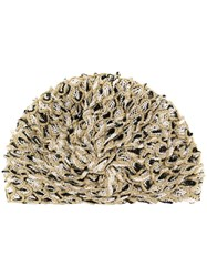 Missoni Mare Lace Decorated Hat Gold