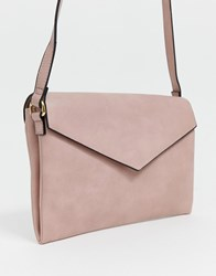 Oasis Cross Body Bag In Pink White