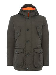 Puffa Men's Minter Jacket Olive