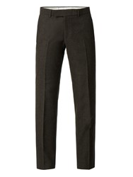 Racing Green Men's Donegal Tailored Trouser Green