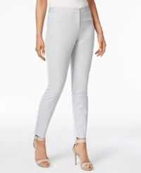 Alfani Skinny Pants Only At Macy's New City Silver