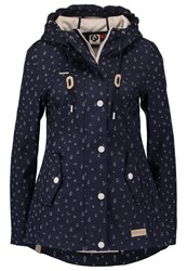 Ragwear Maggie Summer Jacket Navy Dark Blue