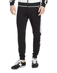 Polo Ralph Lauren Mesh Paneled Terry Jogger Pants Polo Black