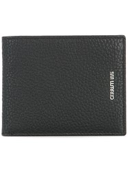 Cerruti 1881 Logo Plaque Billfold Wallet Black