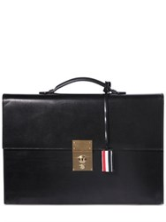 Thom Browne Brushed Leather Briefcase