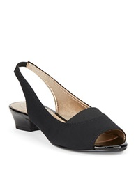 Circa Joan And David Uri Slingbacks Black