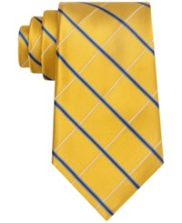 Club Room Men's Pinstripe Gold Tie Only At Macy's Yellow