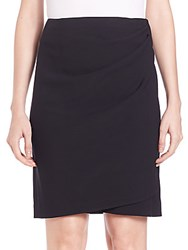 3.1 Phillip Lim Draped Wrap Skirt Black