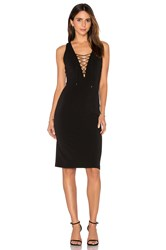 Haute Hippie The Sheia Cocktail Dress Black