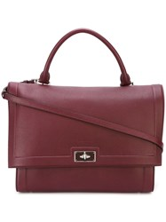 Givenchy Large 'Shark' Tote Red