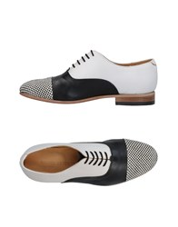 Dieppa Restrepo Lace Up Shoes Black