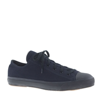J.Crew The Hill Side Selvedge Indigo Panama Cloth Sneakers