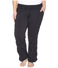 Lucy Extended Get Going Pants Black Women's Workout