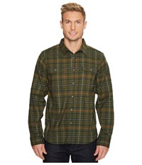Mountain Hardwear Stretchstone Long Sleeve Shirt Surplus Green Men's Long Sleeve Button Up Olive