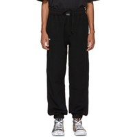 Vetements Black Oversized Inside Out Lounge Pants