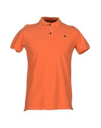 Invicta Topwear Polo Shirts Men Orange