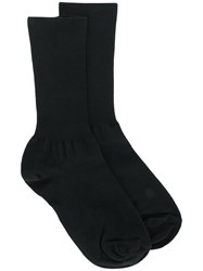 Versace Ribbed Socks Black