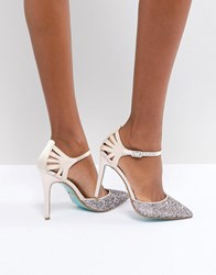 Blue By Betsey Johnson Betsy Blush Avery Heeled Shoes Pink