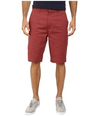 Volcom Frickin Modern Stretch Short Burgundy Heather Men's Shorts