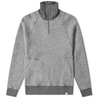 Norse Projects Alfred French Terry 1 4 Zip Sweat Grey