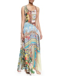 Johnny Was Morelli Mix Print Maxi Dress