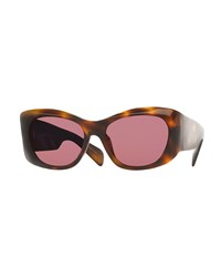 Oliver Peoples The Row Bother Me Cat Eye Sunglasses Tortoise Green