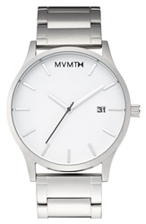 Mvmt Bracelet Watch 40Mm Steel Steel