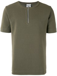 S.N.S. Herning Handle T Shirt Men Cotton Polyester L Green
