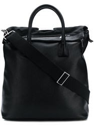 Maison Martin Margiela Sailor Shopper Tote Black