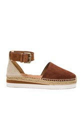 See By Chloe Ankle Strap Espadrille Tan