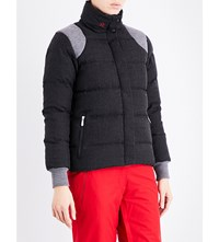 Perfect Moment Qanir Blazer Quilted Shell Jacket Black