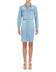 Noisy May Denim Shirtdress Blue