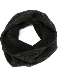 Roberto Collina Marled Snood Brown