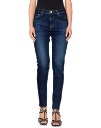 Alexa Chung For Ag Denim Denim Trousers Women