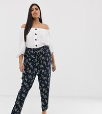 Junarose Tropical Print Trousers Multi