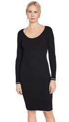 Cupcakes And Cashmere Claudia Sweater Dress Black