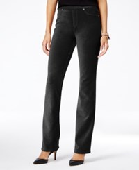 Styleandco. Style Co. Corduroy Pull On Bootcut Pants Only At Macy's Deep Black