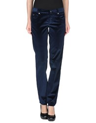 Ice Iceberg Trousers Casual Trousers Women Dark Blue