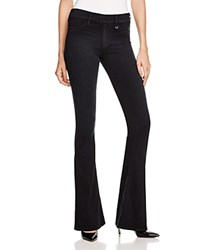 True Religion Runway Flare Jeans In Boho Black