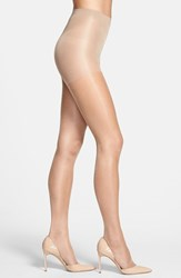 Women's Calvin Klein Shimmer Sheer Control Top Pantyhose Gold