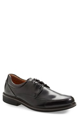 Ecco 'Holton' Apron Toe Derby Men Black