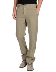 Closed Trousers Casual Trousers Men Khaki